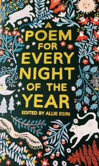 Cover detail of A Poem for Every Night of The Year showing hand drawn nature images