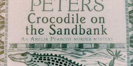 Cover Detail - Crocodile on the Sandbank by Elizabeth Peters