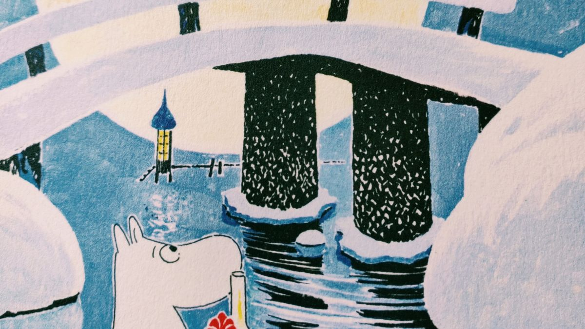 Cover detail of Moominland Midwinter by Tove Jansson