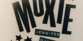 Inner Cover of Moxie by Jennifer Mathieu showing title and stars decoration