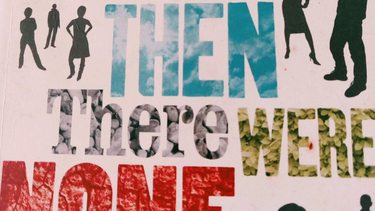 Cover Detail of And Then There Were None by Agatha Christie