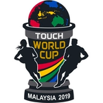 Logo for Touch World Cup - 2019