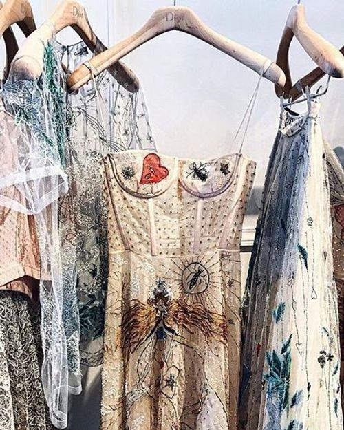 Inspiration: Embroidered tulle
