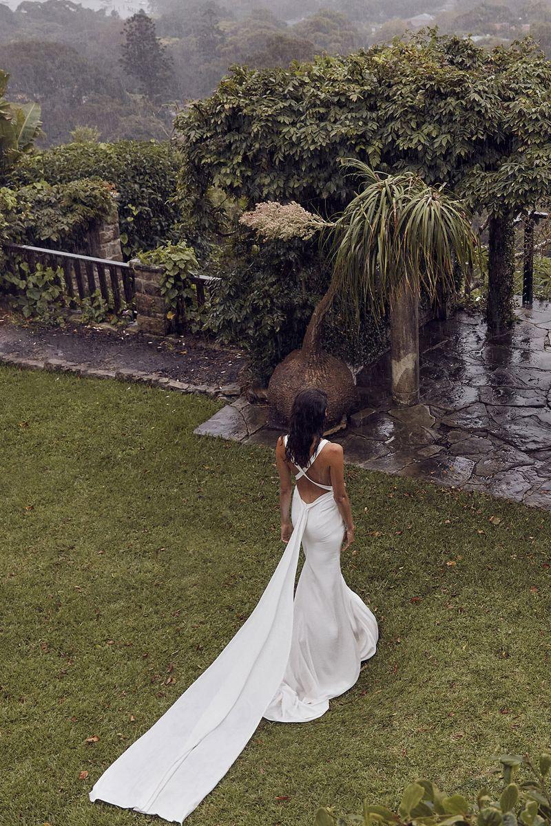 Untold Wonderland: Pearl gown