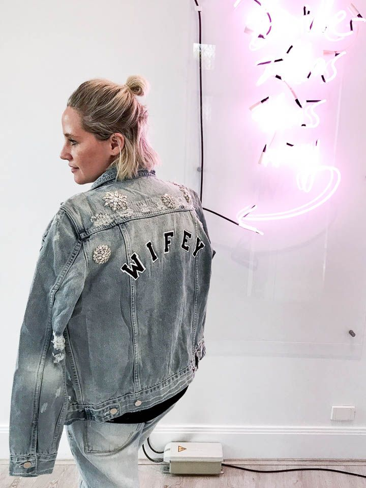 Style File: Staple denim jacket with a twist chosen by one day jacket