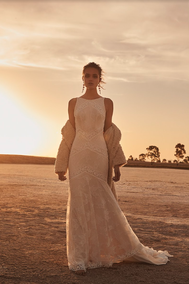 Editorial: Clair De Lune Francis gown wedding dress