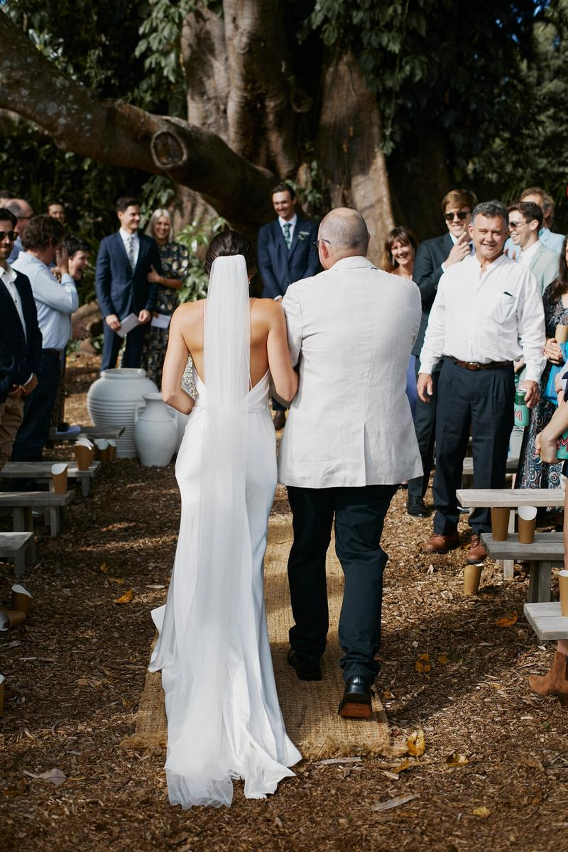 lennox gown byron bay wedding chosen by kyha