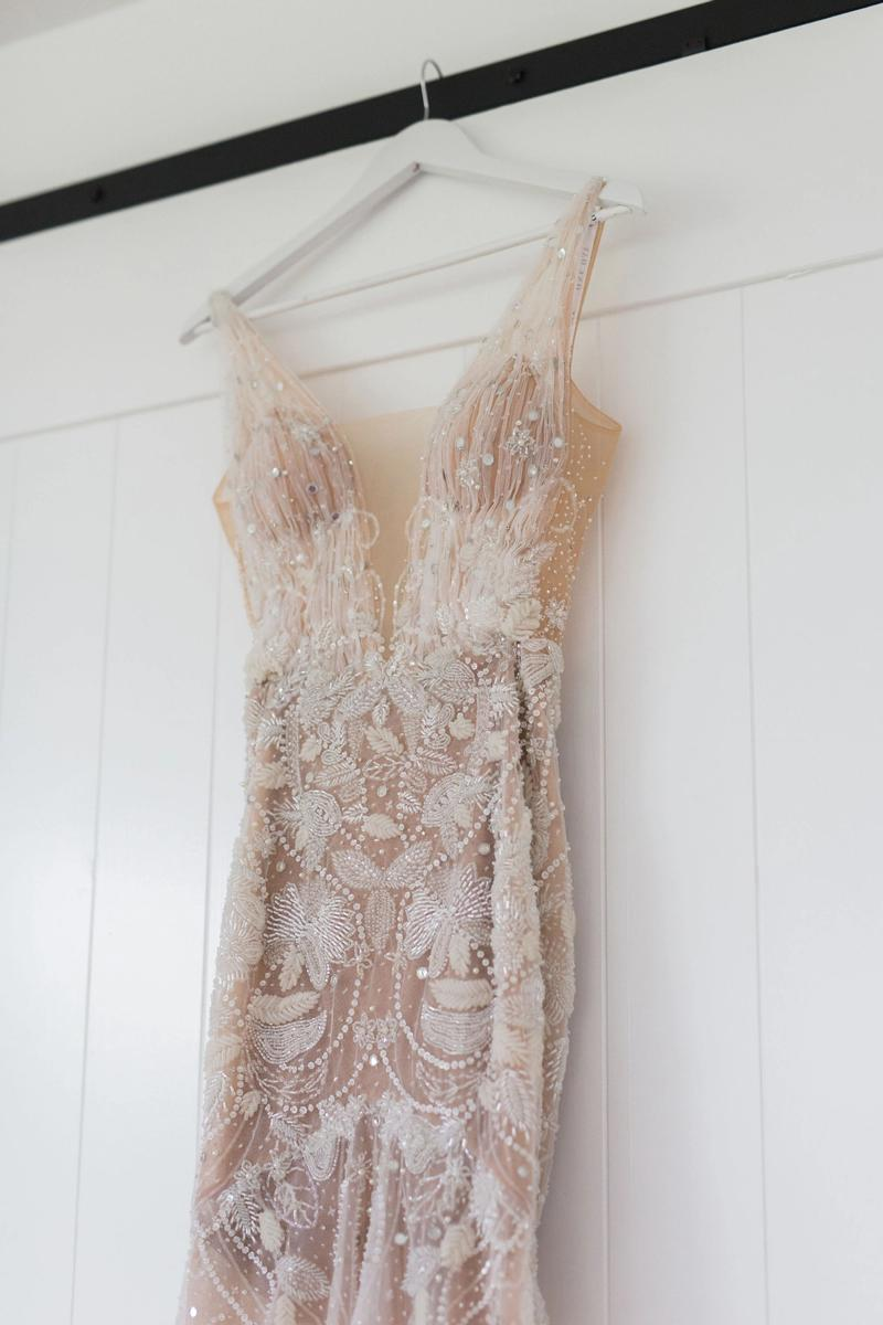 georgia by kyha gown hanging