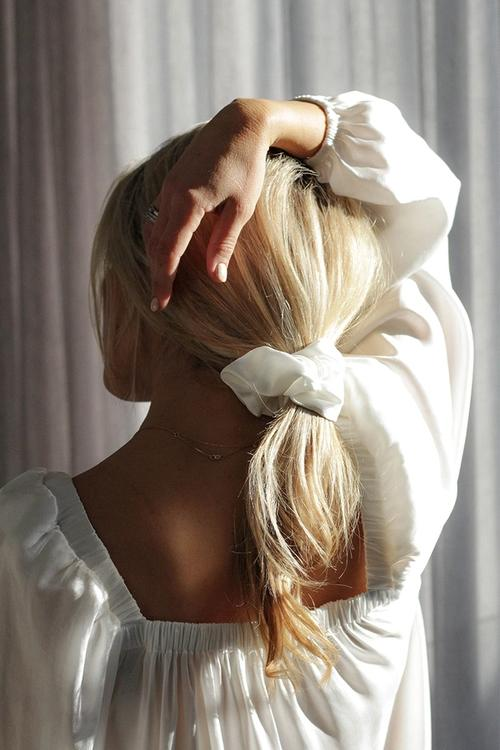 The Sleep Scrunchie: The answer to good hair, day and night