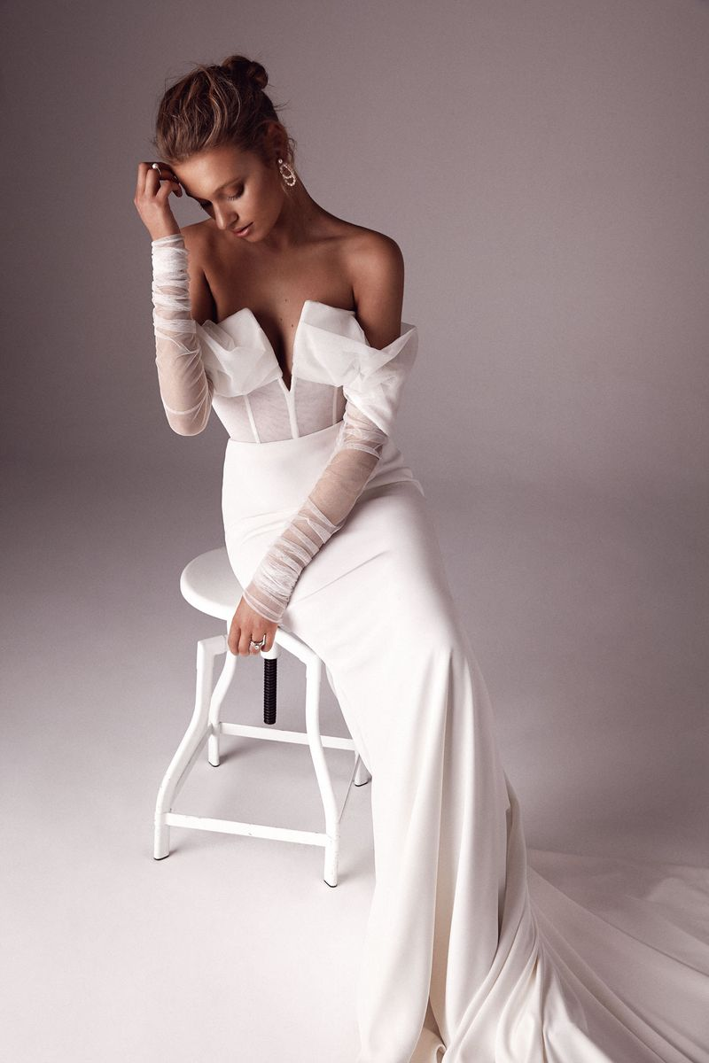 One Day x Sphere Collective: A Collaborative Collection the bridal Hera gown