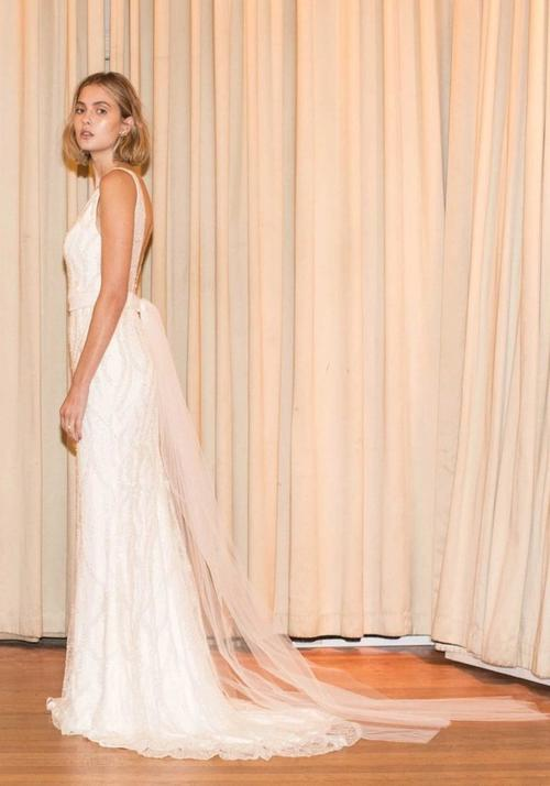 Editorial: 1985 wedding gown one day bridal
