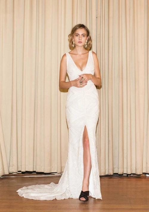 Editorial: 1985 wedding gown