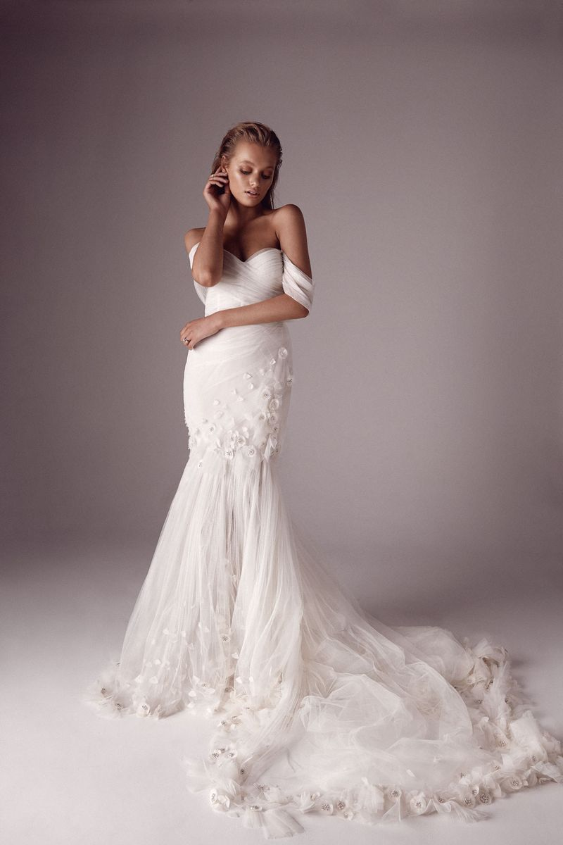 One Day x Sphere Collective: A Collaborative Collection the bridal Lucina gown