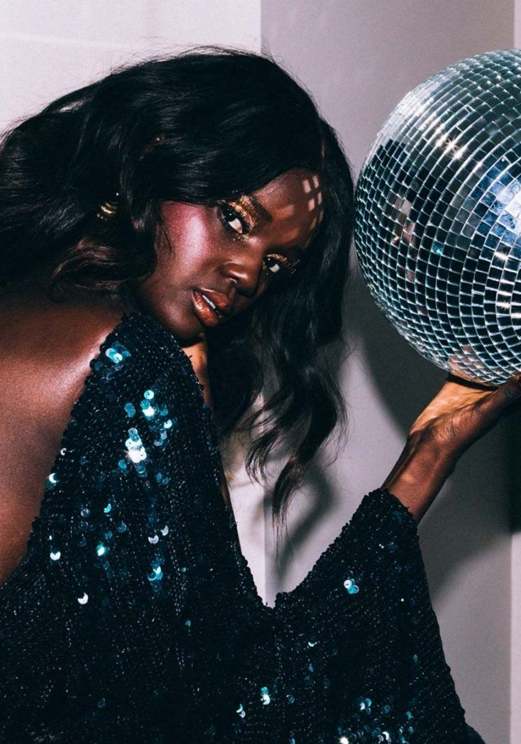 Editorial: I Choose Disco one day bridal embellished
