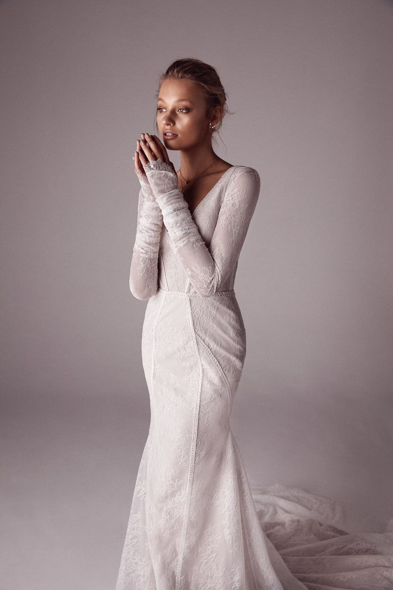 One Day x Sphere Collective: A Collaborative Collection the bridal Callista gown