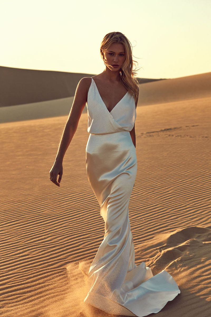 Chosen By One Day: Desert Rose Collection editorial bridal eames gown