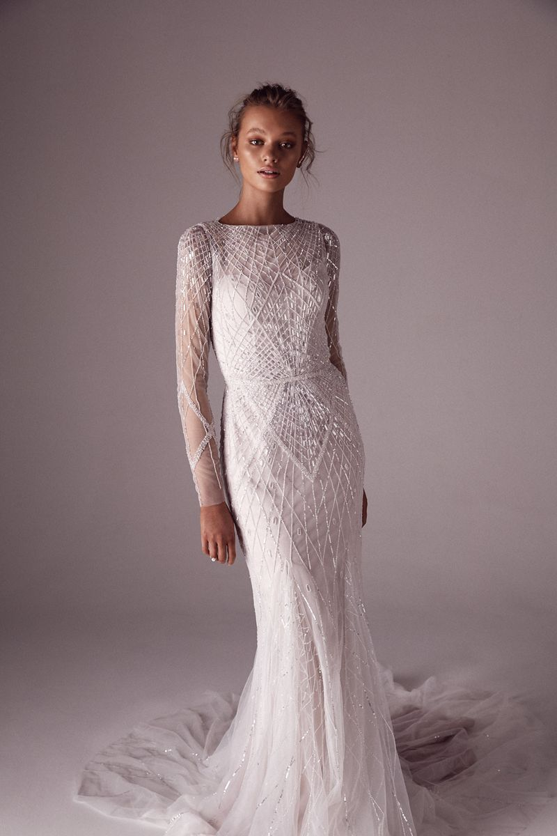One Day x Sphere Collective: A Collaborative Collection the bridal Elton gown