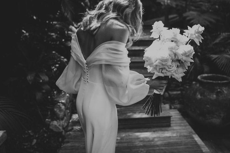 Bride Georgie: Photo by Beck Rocchi