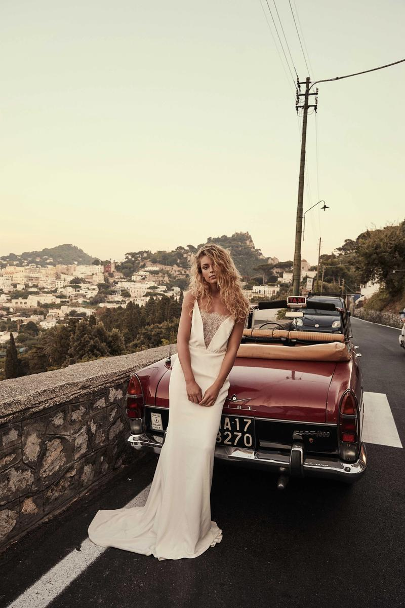 chosen by one day bridal Dakota gown ana capri editorial