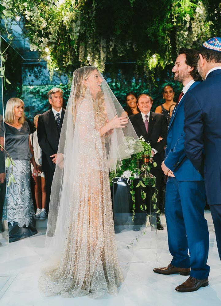 Amira: A One Day Bride nala gown chosen by embellished wedding gown bridal sheath veil