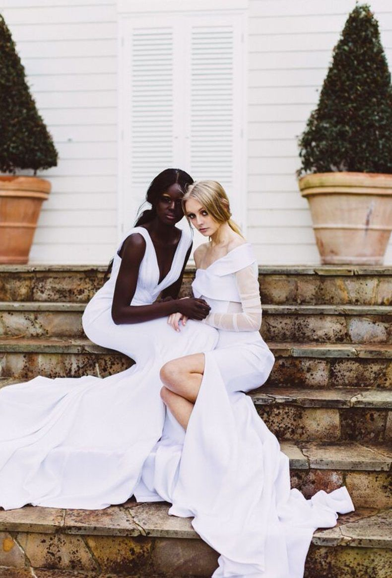 Editorial: Love's Keeper wedding gown brooklyn gown