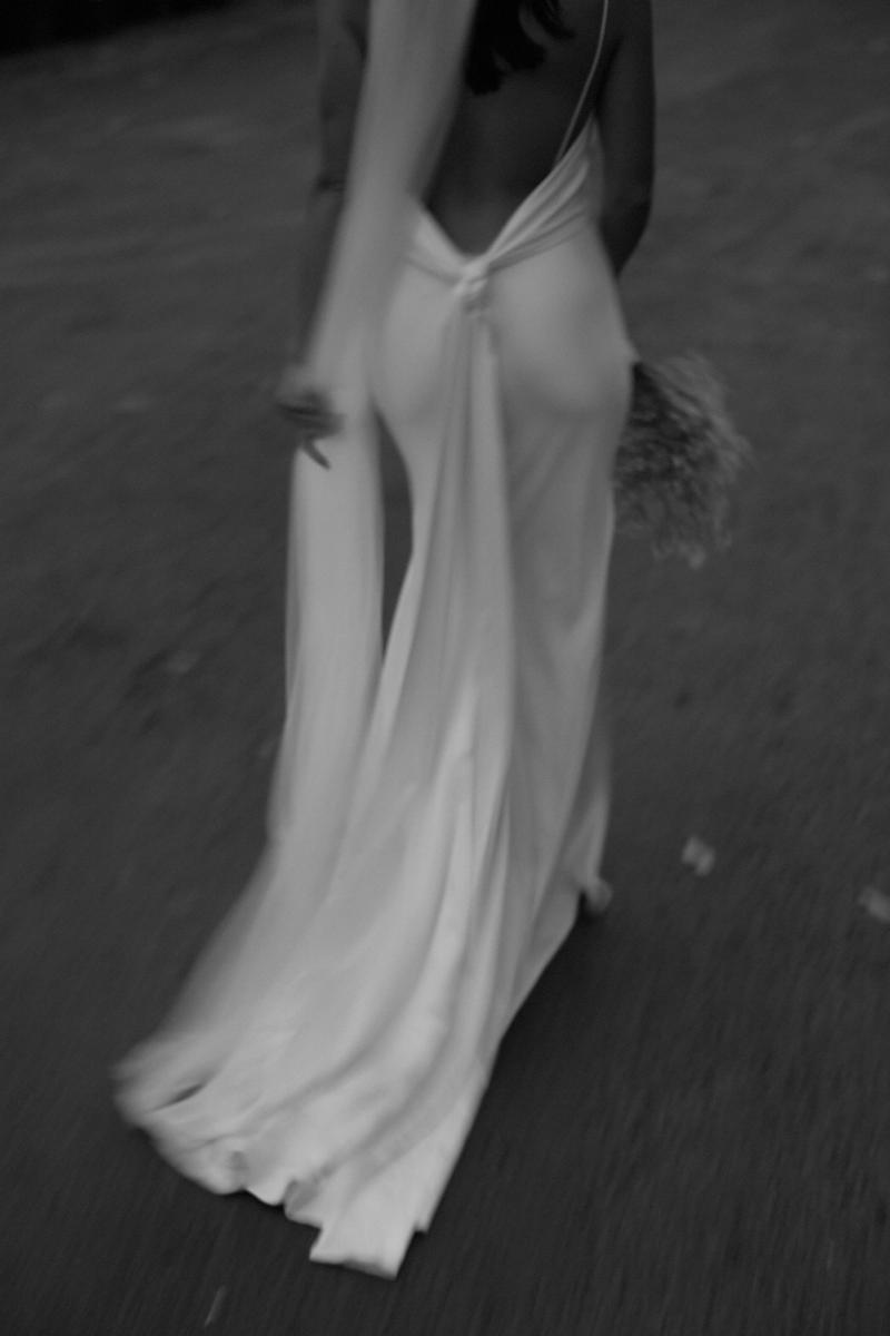 lennox bride wedding dress gown chosen by kyha byron bay