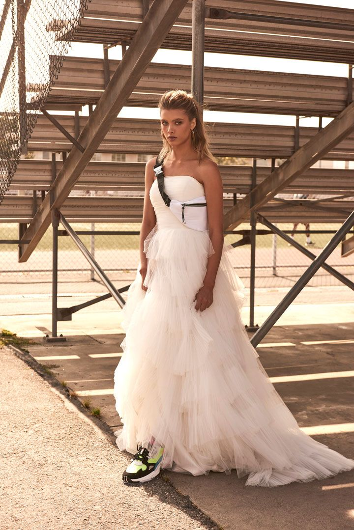 Editorial: End Game belle gown wedding dress gown