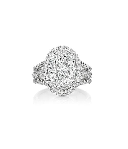 Engagement gemstone shapes to consider oval cut diamon