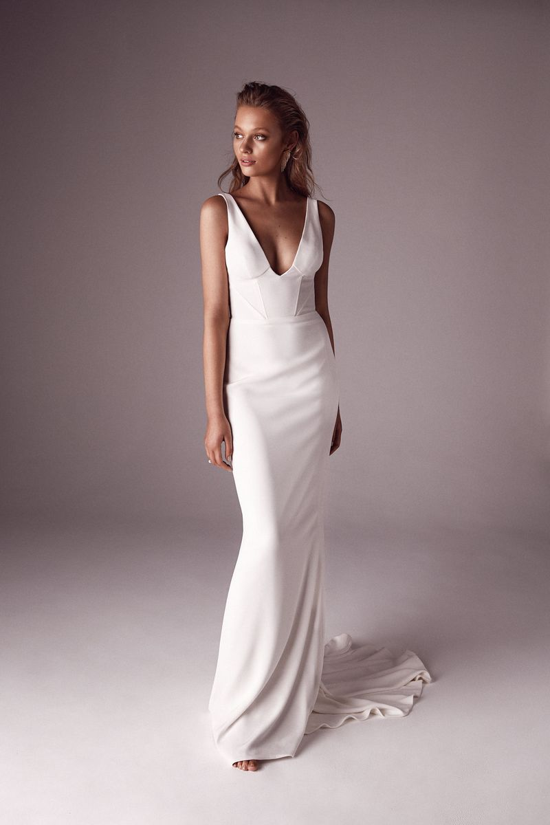 One Day x Sphere Collective: A Collaborative Collection the bridal Portia gown