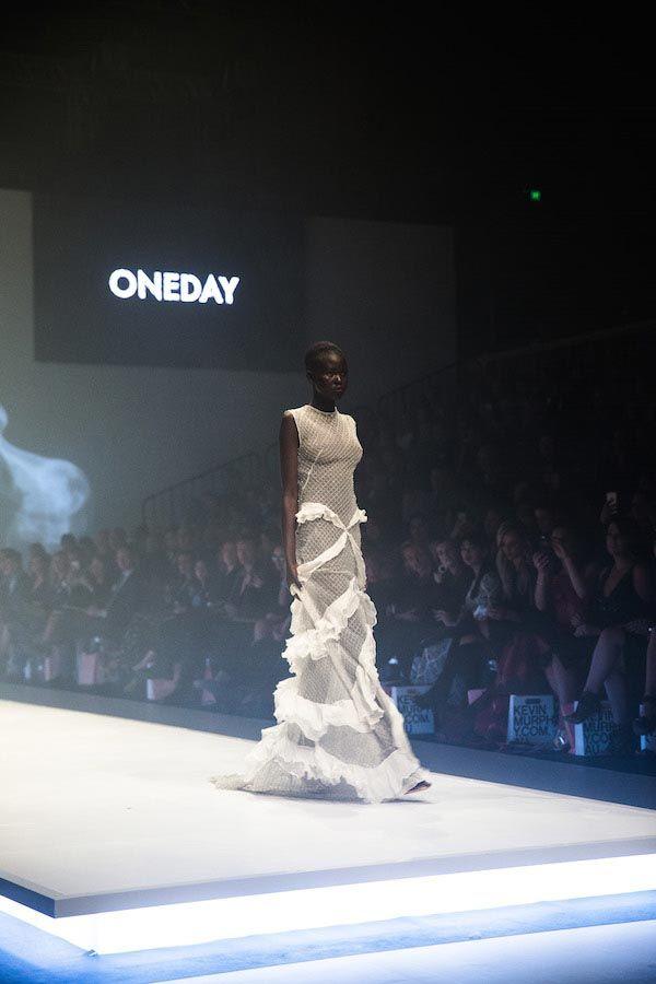 Melbourne Fashion Week: Opening Gala runway one day bridal