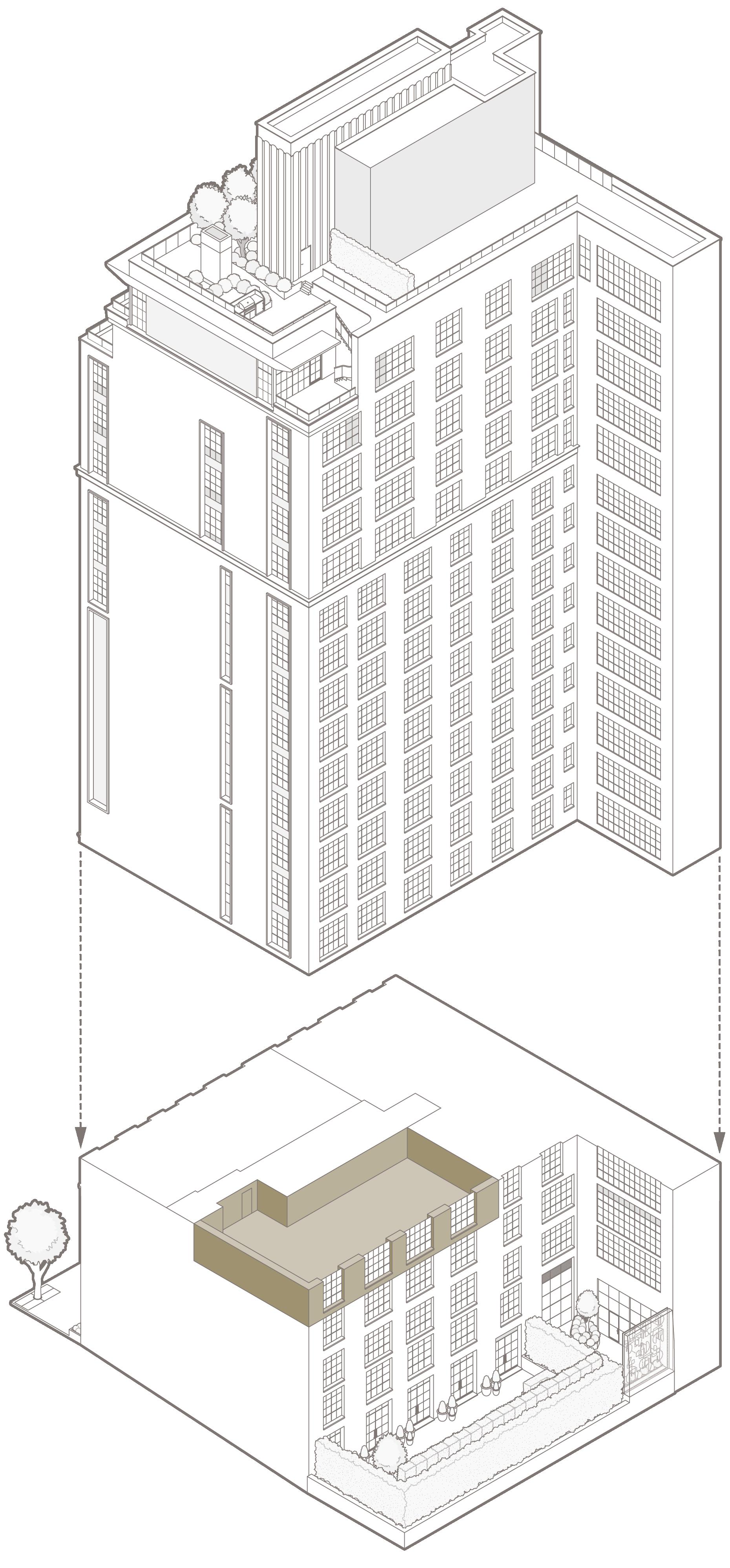 5 North – North elevation