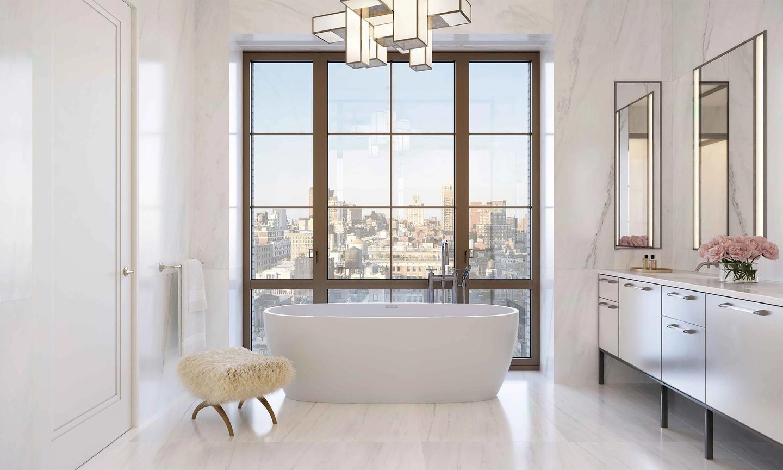 Penthouse primary bathroom