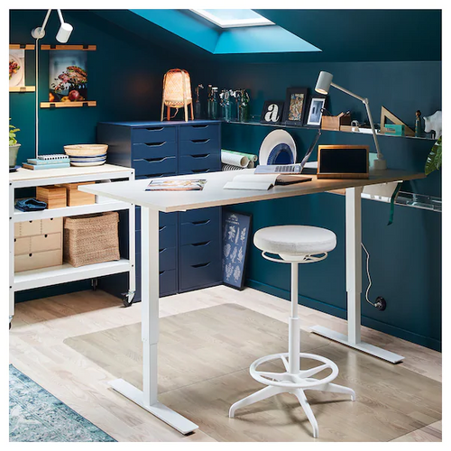 IKEA SKARSTA manual sit/stand desk