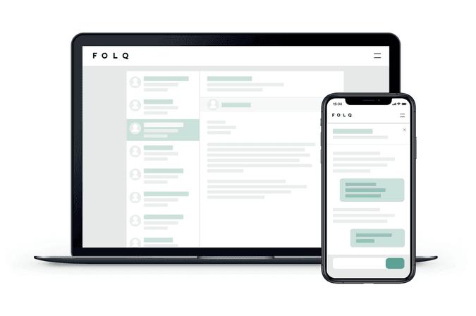 Hos Folq avtaler du samarbeidet direkte med konsulenten, uten at en ekstern part er involvert.