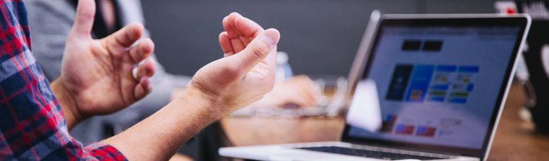 Bruk av kroppsspråk under et videointervju kan forsterke kommunikasjonen og gi et bedre inntrykk
