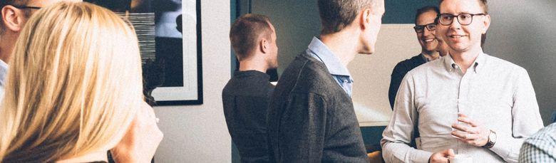 Som konsulent hos Folq kan du sparre med andre dyktige selvstendige konsulenter