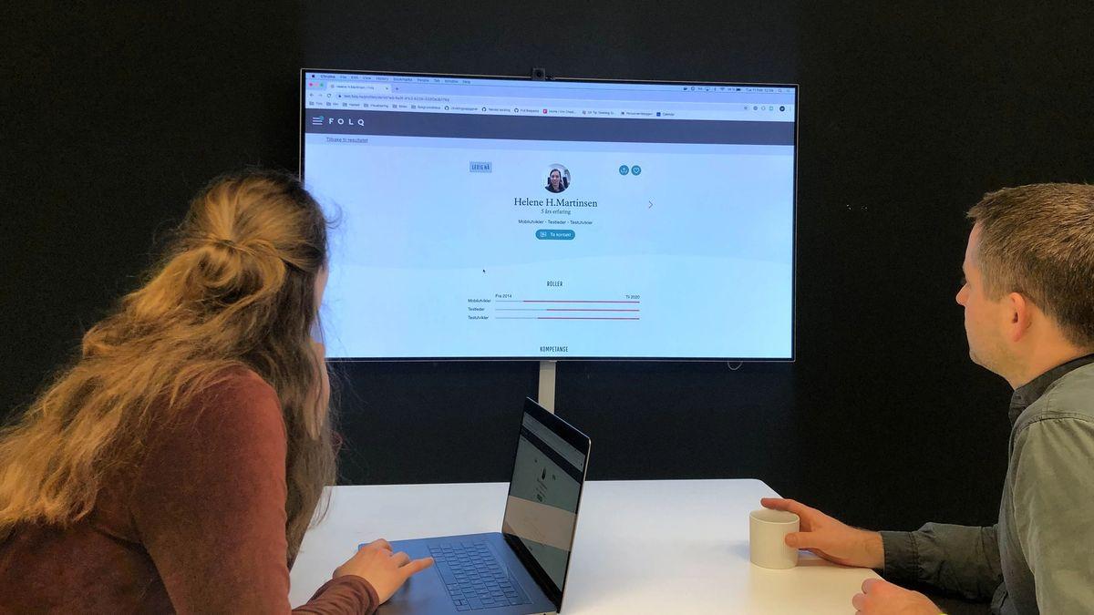 På Folq plattformen får du tilgang til flere hundre konsulenter