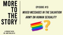 Mixed Messages in The Salvation Army on Human Sexuality