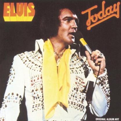 Elvis Presley - Today - Album Cover