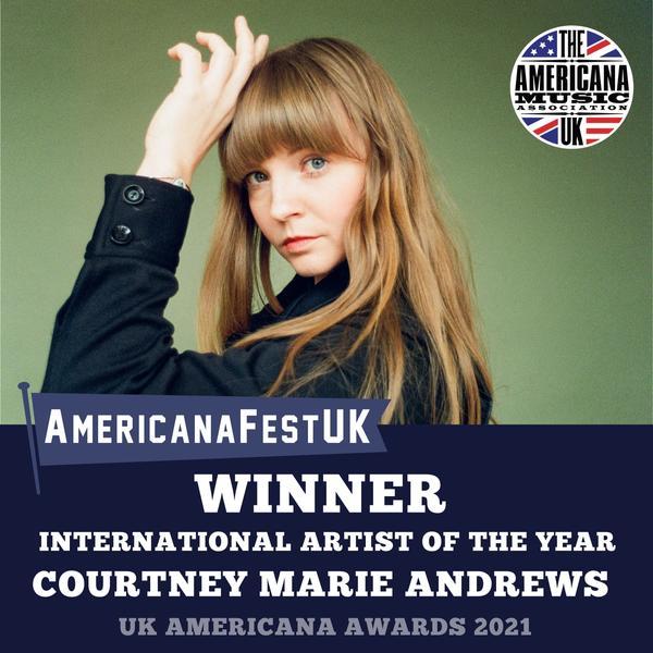 AMA Award Winner: International Artist of the Year - Courtney Marie Andrews