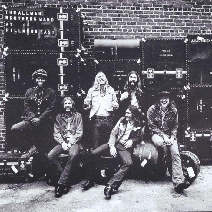 Album Cover: The Allman Brothers Band - At Fillmore East