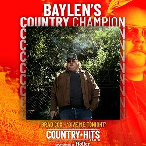 Baylen Leonard's Country Champion Brad Cox