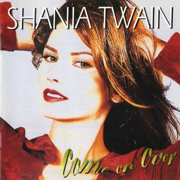 Shania Twain - Come On Over - Album Cover