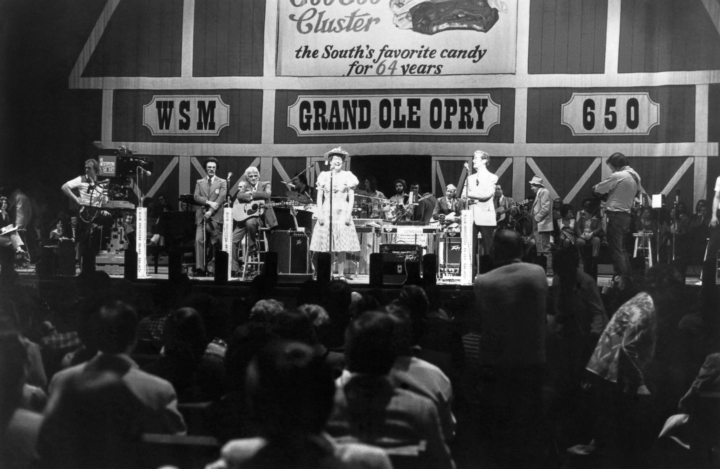 Cousin Minnie Pearl & Roy Acuff At the Grand Ole Opry
