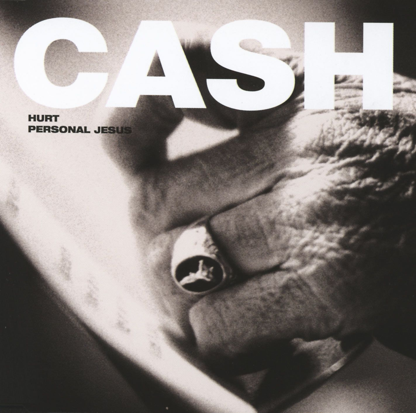 Johnny Cash - Hurt - Single Cover