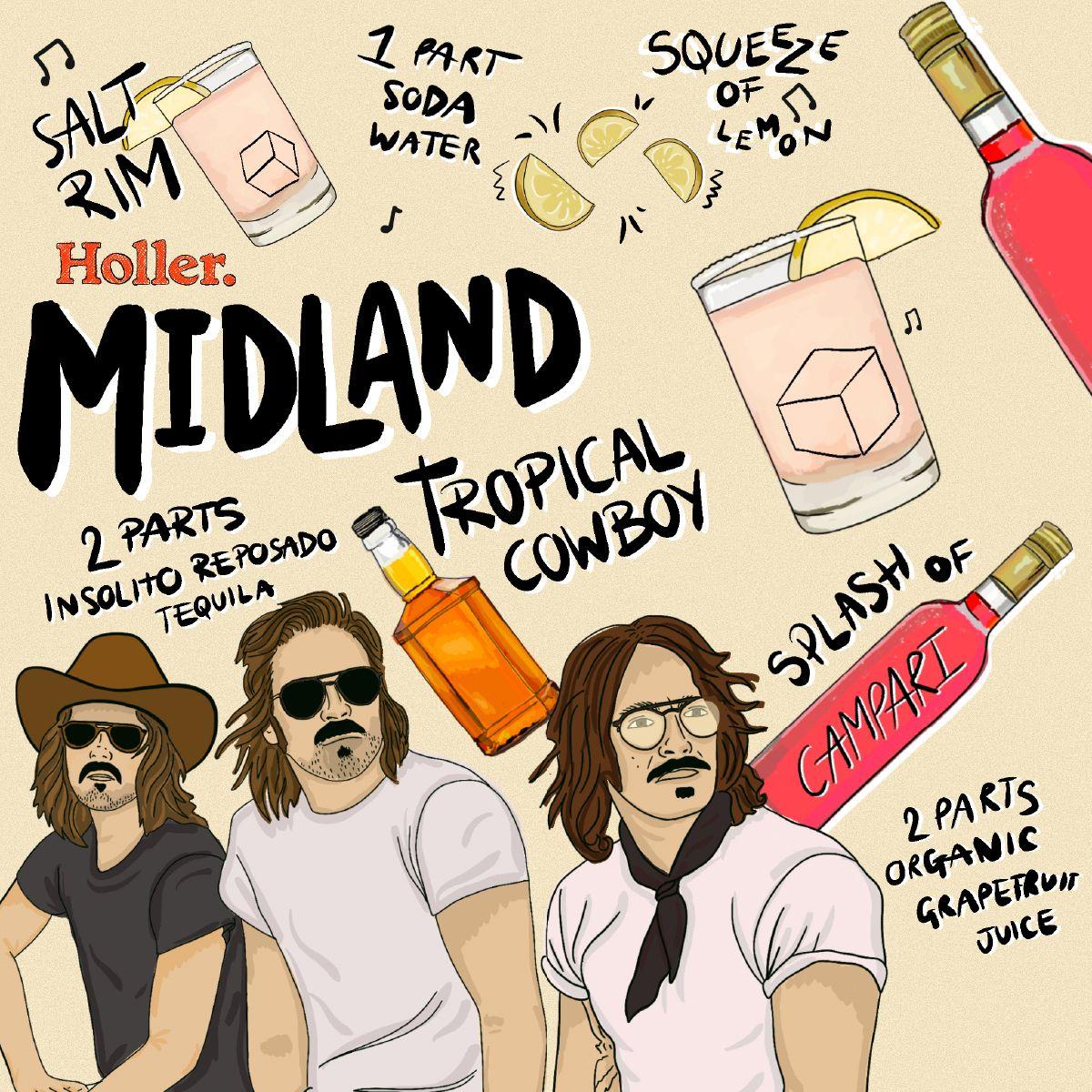 Graphic - Midland - Holler CC