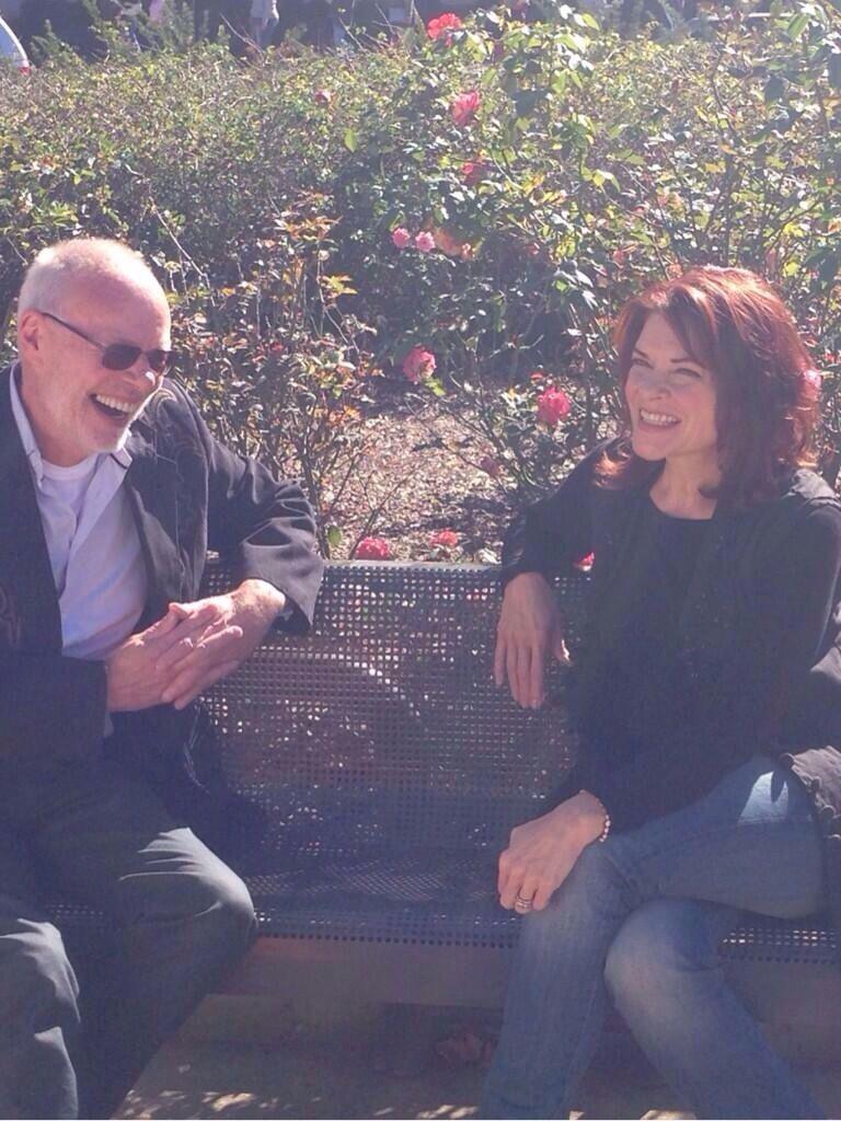 Bob Harris and Roseanne Cash