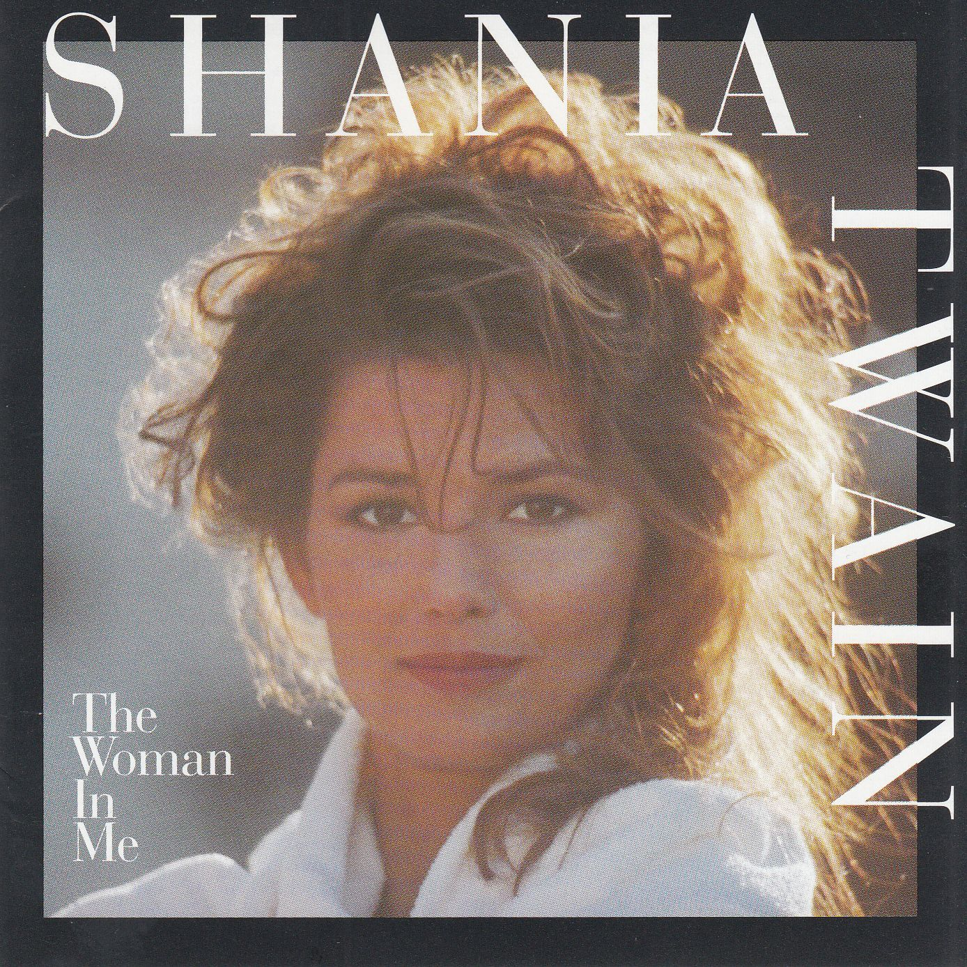 Shania Twain - The Woman In Me - Album Cover