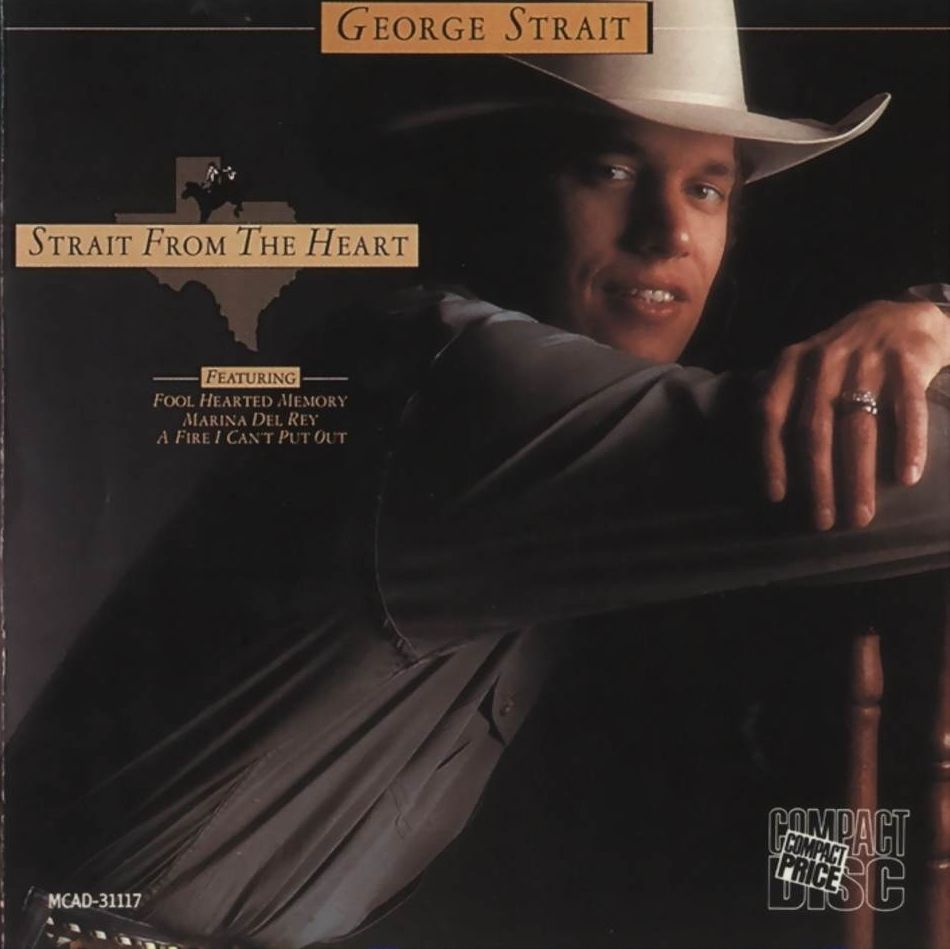 George Strait - Strait From The Heart - Album Cover