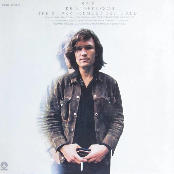 Kris Kristofferson - The Silver Tongued Devil and I Album Cover
